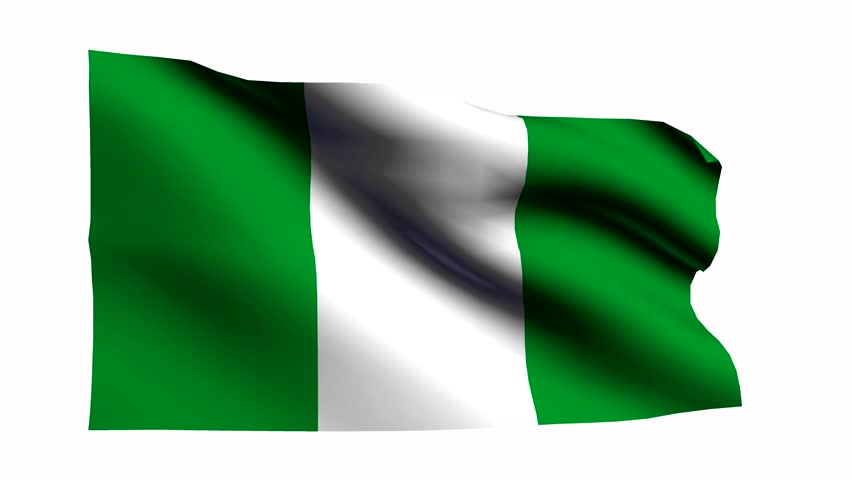 flag of nigeria waving stock footage video 4933022 | shutterstock
