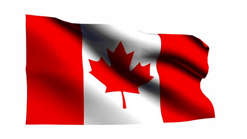 Canada flag with transparent background stock footage video 19207612 shutterstock - Canada flag image ...