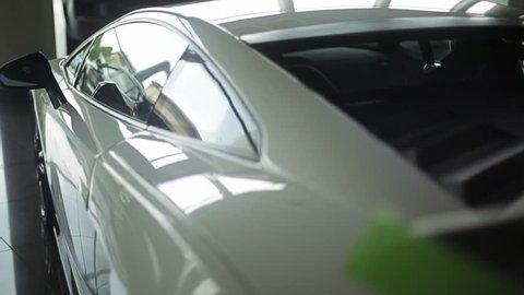 Spoiler of car