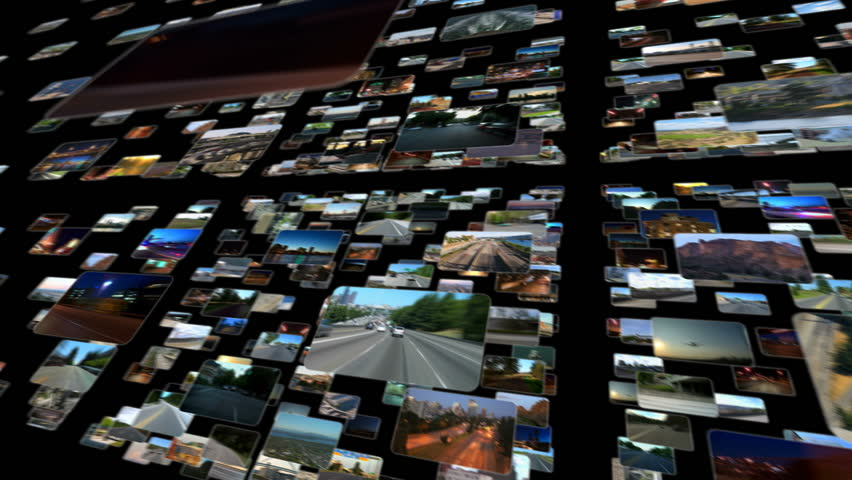 Video Screens In Space 1 (black)