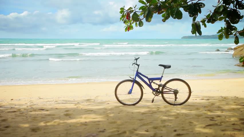 Bicycle On Beach The Best Beaches In World