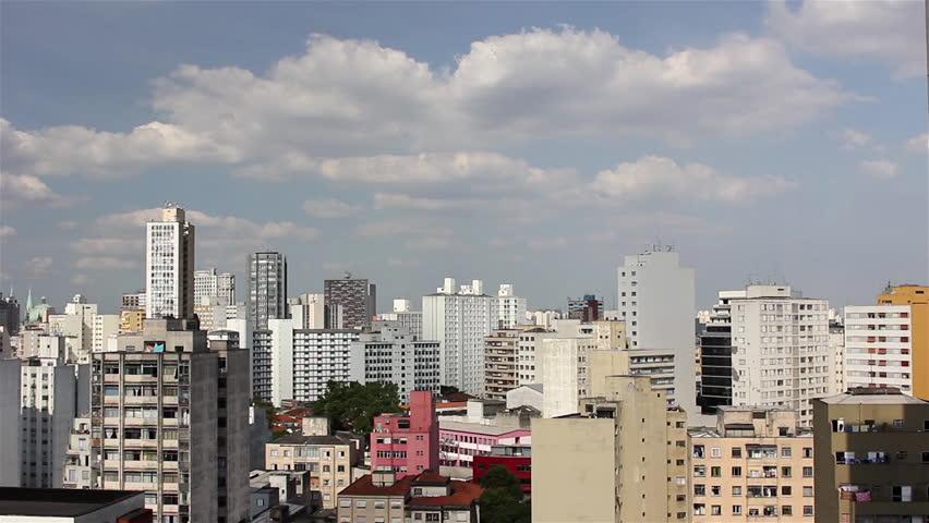 Sao Paulo, Sao Paulo/Brazil - november 2013 - A beautiful view of the buildings in Sao Paulo city.   Shutterstock HD Video #5015651