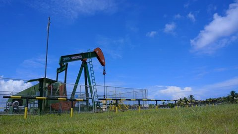 Seria, Brunei-nov  3:on Shore Oil Stock Footage Video (100