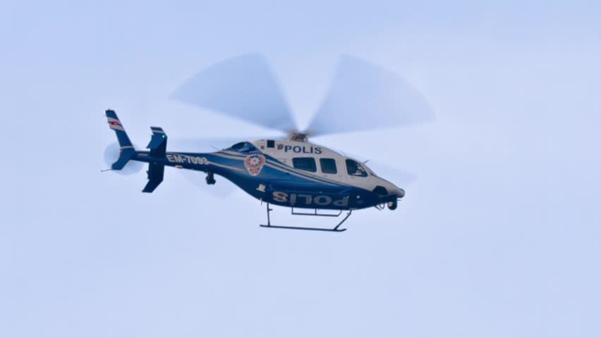 Police helicopter spying. Police service commonly use aircraft for traffic control, air patrol and control of large-scale public events.