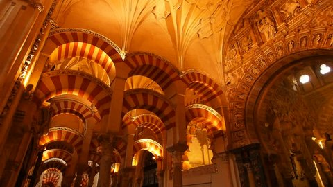 Mezquita-Catedral - Cathedral inside of the former Great Mosque of Cordoba, Andalusia, Spain
