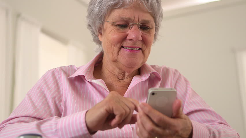 Image result for old woman using a smartphone