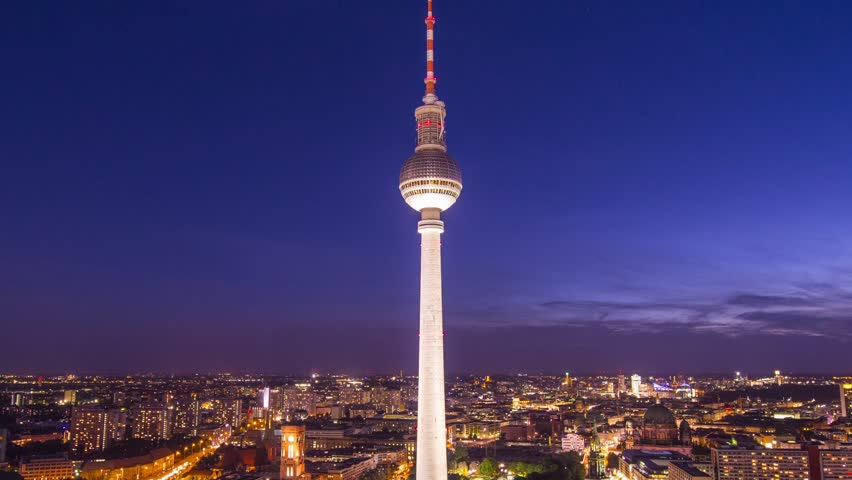 Berlin, Germany at Alexanderplatz.