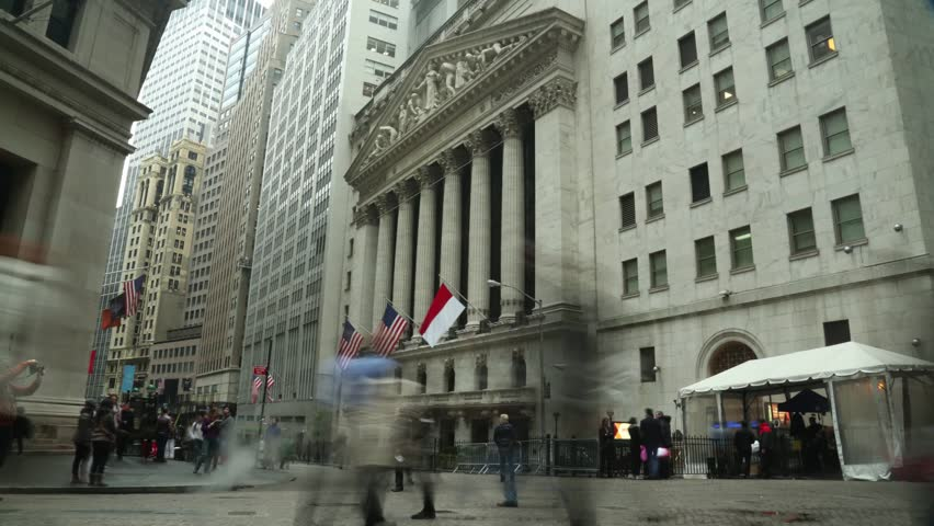 NEW YORK CITY. USA. OCTOBER 2013. New York Stock Exchange. NYSE is the largest stock exchange in the world.