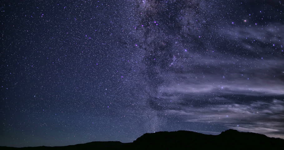 Stars Sky Turning Space Astrophotography Time Lapse
