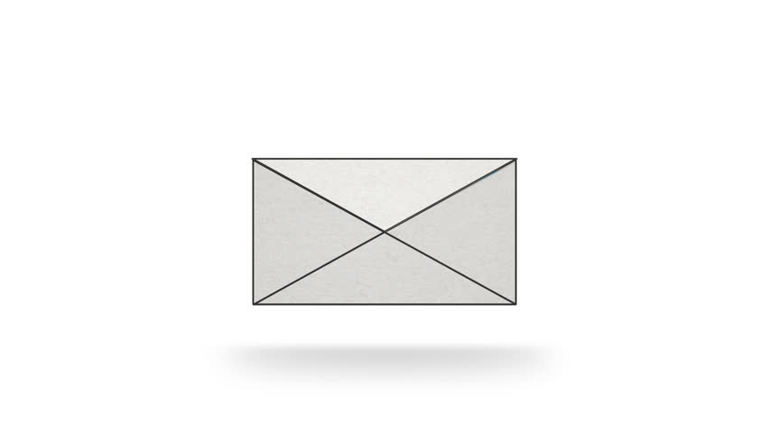 stock video of opening letter animation 5271302 shutterstock