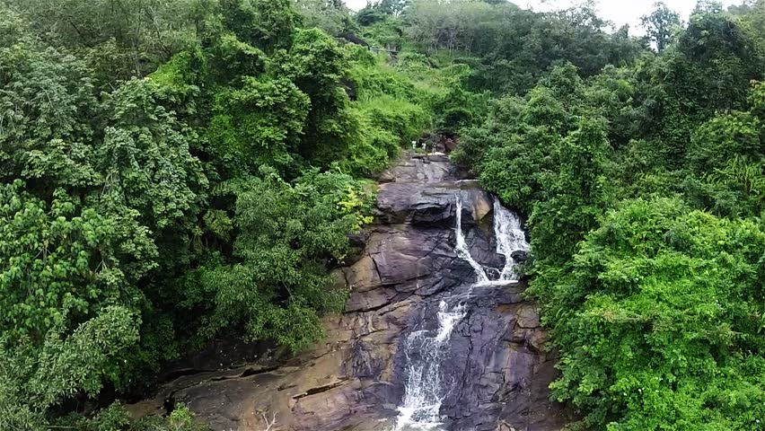 This Shot was taken at Thudugala waterfall near by Kaluthara, Sri Lanka, by a Helicam.
