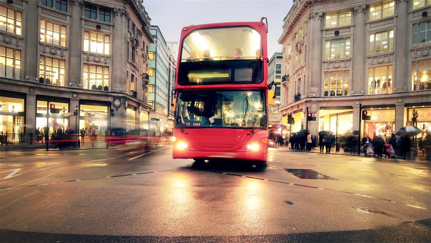 OXFORD STREET LONDON TIME-LAPSE  HD | Shutterstock HD Video #5394656