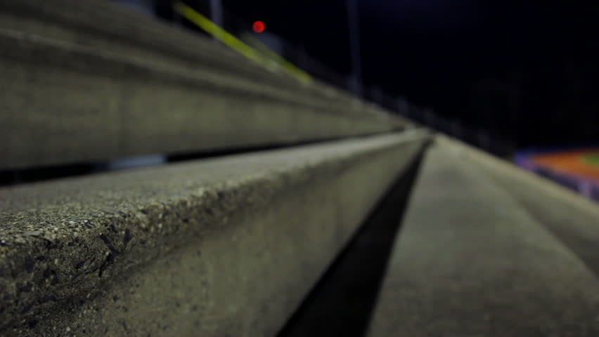 Header of bleachers