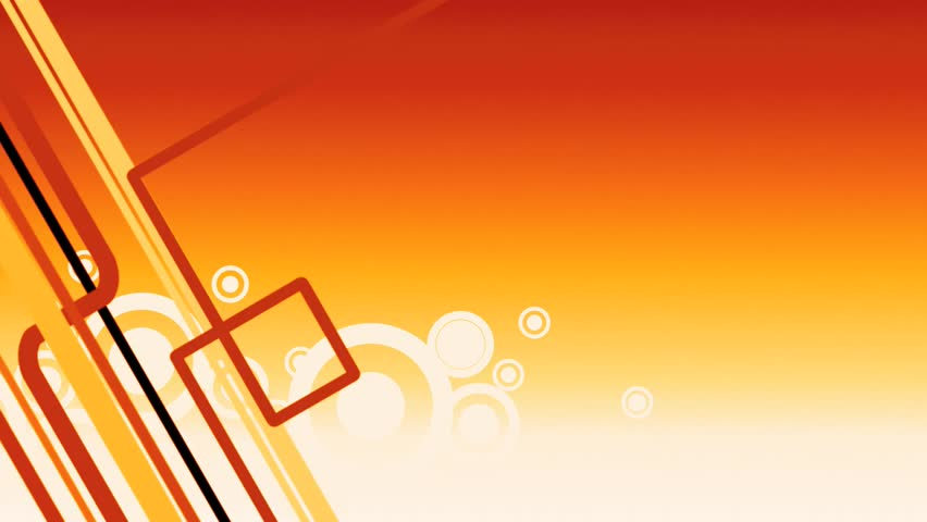 stock video clip of abstract orange background with
