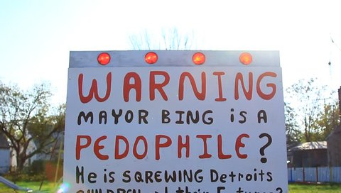Warning Sign Despairing of Detroit Economy for Future Generations