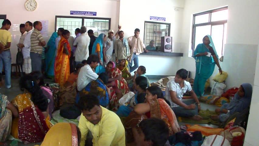 Raxaul, India-Oct 24 Local People Stock Footage Video -4086