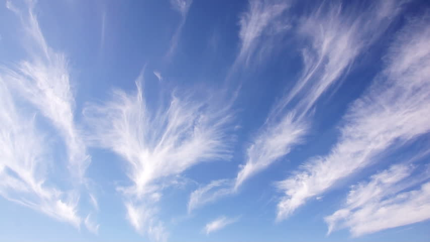 cirrus clouds sky cloud weather air water blue