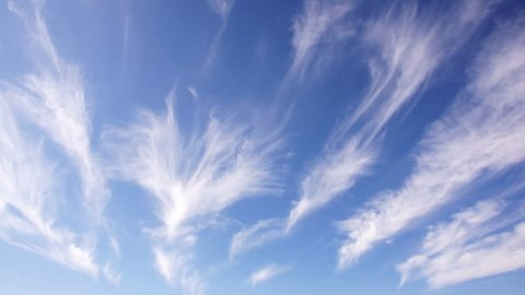 cirrus clouds sky cloud weather air water blue