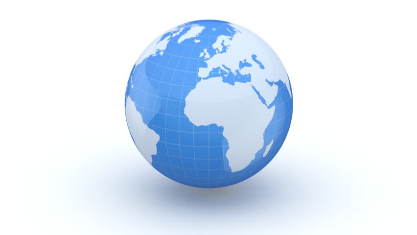 World map turns into a globe white background loop created in globe 3d elements of this image furnished by nasa hd stock video clip gumiabroncs Image collections