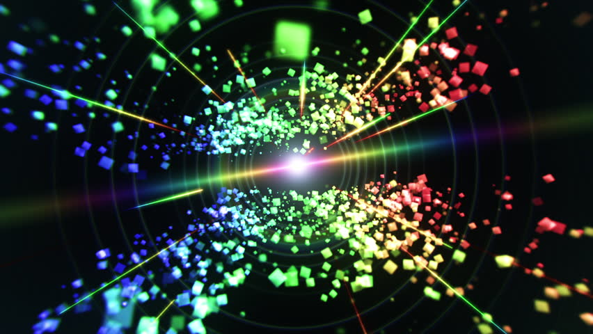 Rainbow Cubes and Laser Lights Stock Footage Video (100% Royalty-free)  5635142 | Shutterstock
