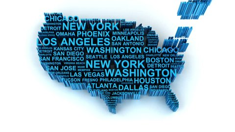 Flat Us Map.Flat Us Map Stock Video Footage 4k And Hd Video Clips Shutterstock