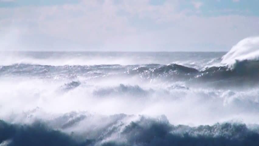 Ocean sea spray | Shutterstock HD Video #5709122