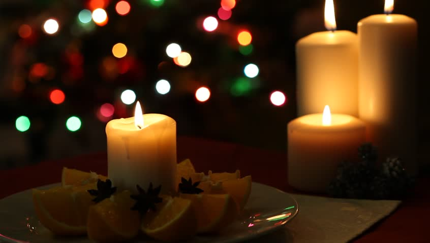 Browse video categories - Flame Of Candle On Blurred Stock Footage Video (100% Royalty-free