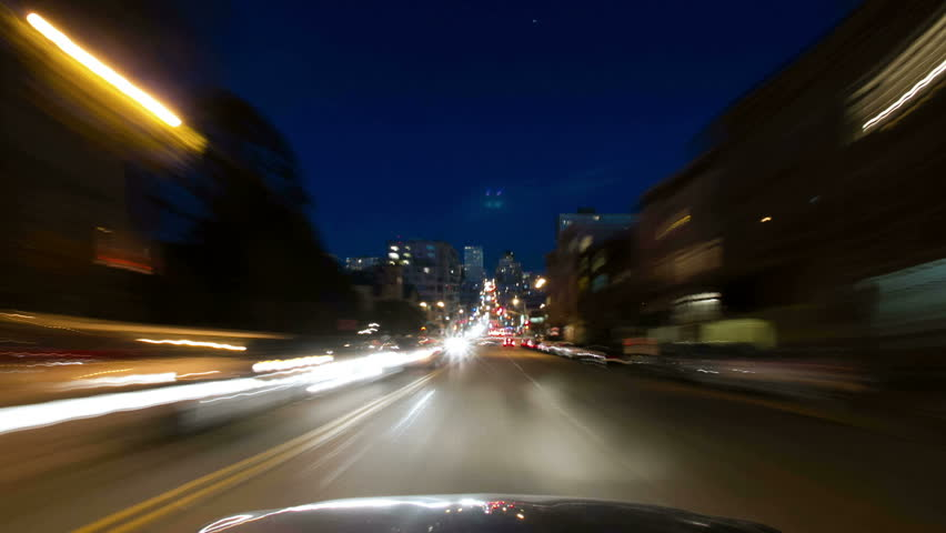 San Francisco City Driving Time lapse | Shutterstock HD Video #5740727