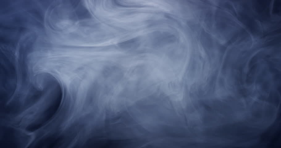 Smoke Blue Gray 2of2. Real Shots, No CGI Or Post Effects