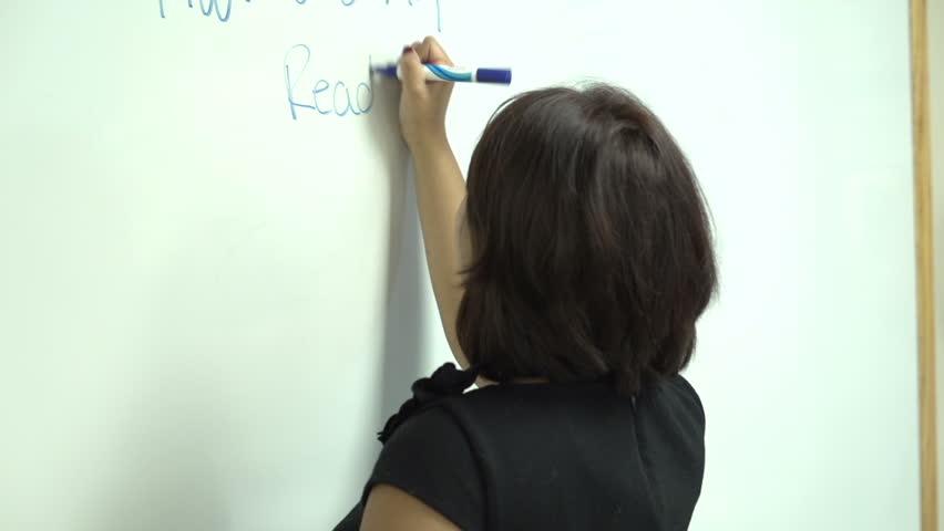 teacher writing assignments
