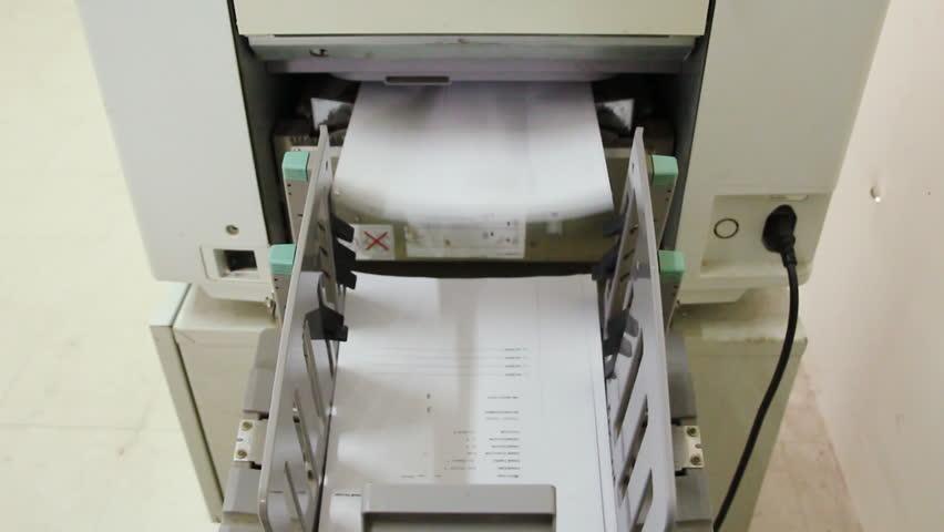 paper copy machine