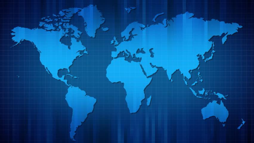 Panoramic Movement of World Map. Stockvideos & Filmmaterial (100 %  lizenzfrei) 584152 | Shutterstock