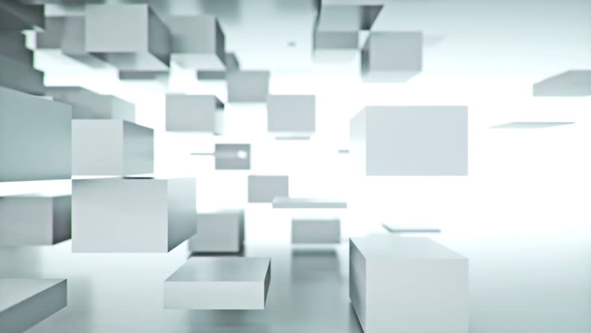 White Cubes Background (LOOP) | Shutterstock HD Video #5883542