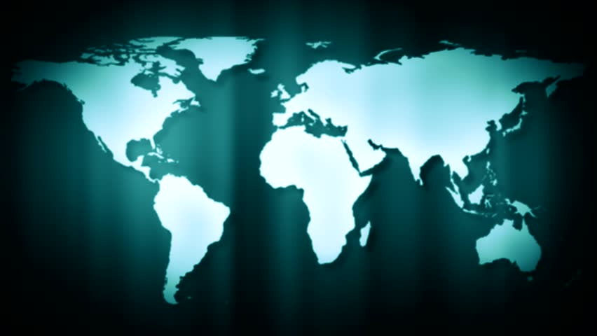 World map stock footage video 6024032 shutterstock abstract cgi motion graphics and animated background with spinning map hd stock footage clip gumiabroncs Images