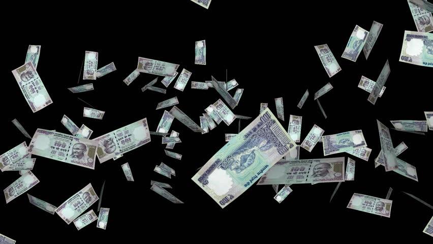 Stock Video Of Money Explosion
