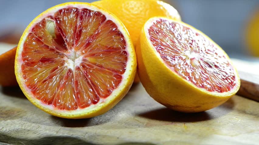 Rotating Blood Oranges (loopable)