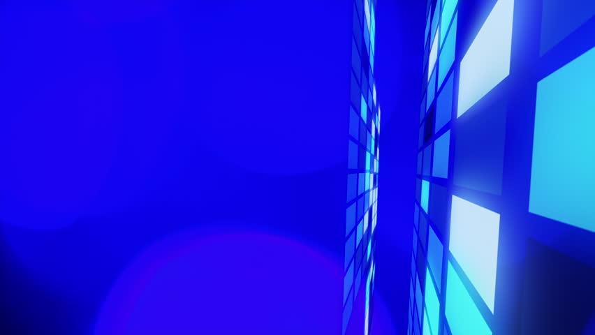 Blue motion background, 4K | Shutterstock HD Video #6111032
