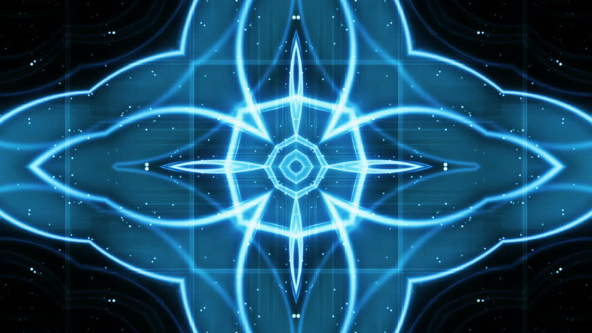 Blue Geometric Mix Looping Animated Background  | Shutterstock HD Video #6253802
