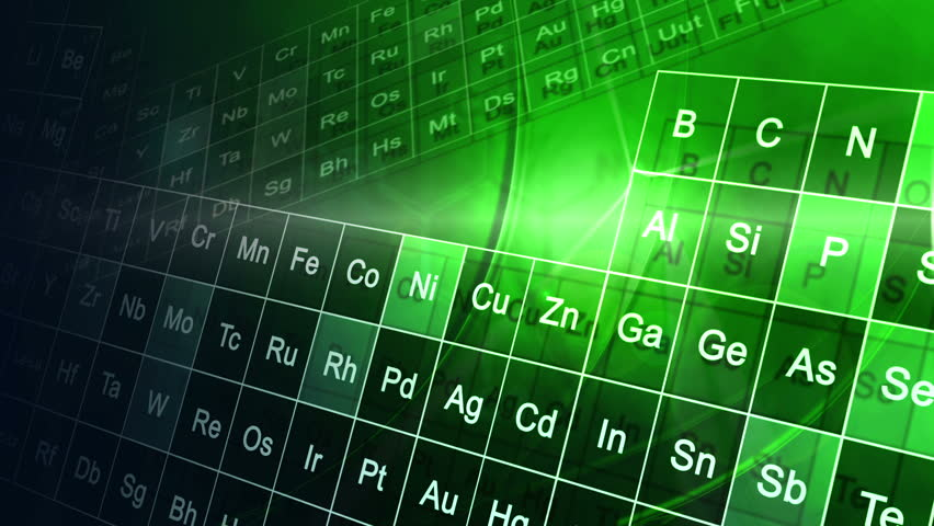 Cg motion graphic animation motion over periodic table cg motion cg motion graphic education animation periodic table cg motion graphic green education animation of the urtaz Choice Image