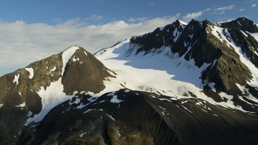 Aerial View Mountain Peaks And Ridges USA Aerial View Mountain - Usa northern hemisphere