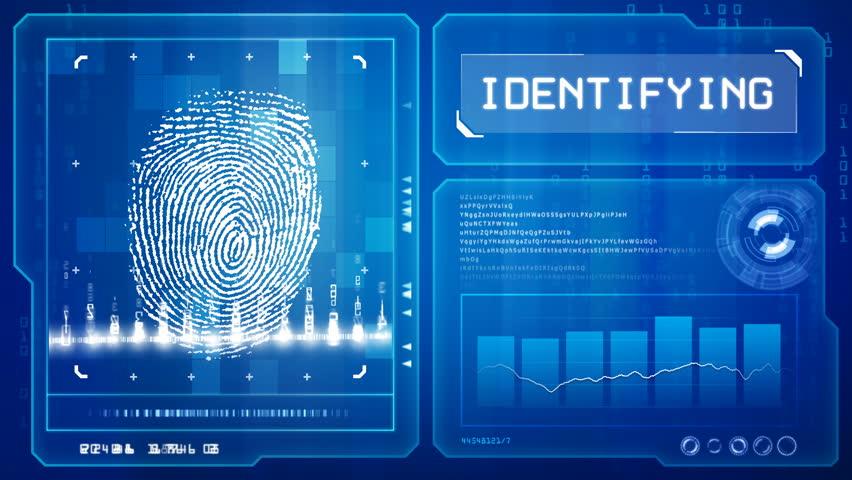Fingerprint scan  | Shutterstock HD Video #634312