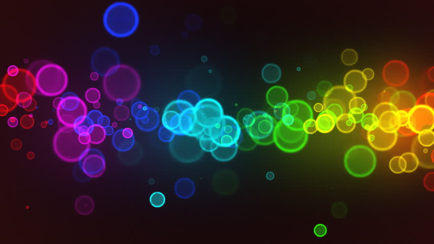 Abstract colorful circles loop | Shutterstock HD Video #670816