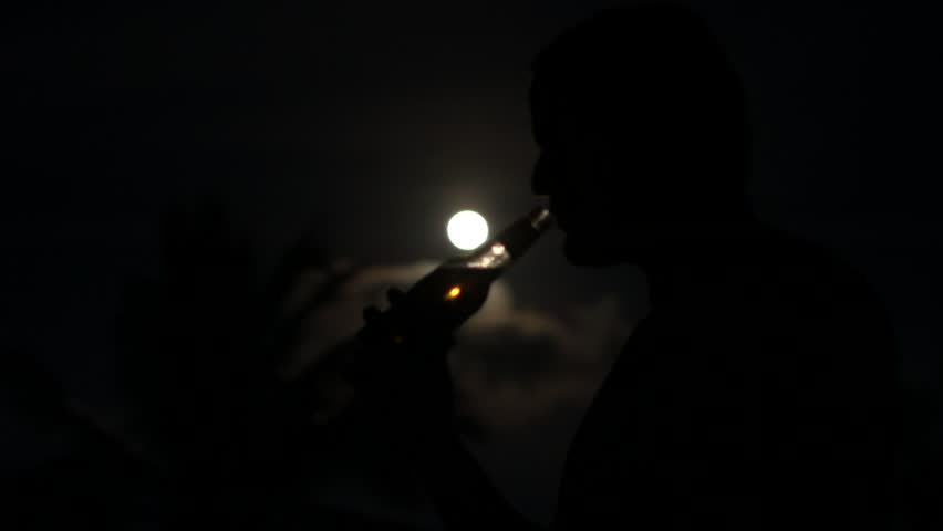 Light In Dark Room in a dark room, a person makes more light using the old gas lamp