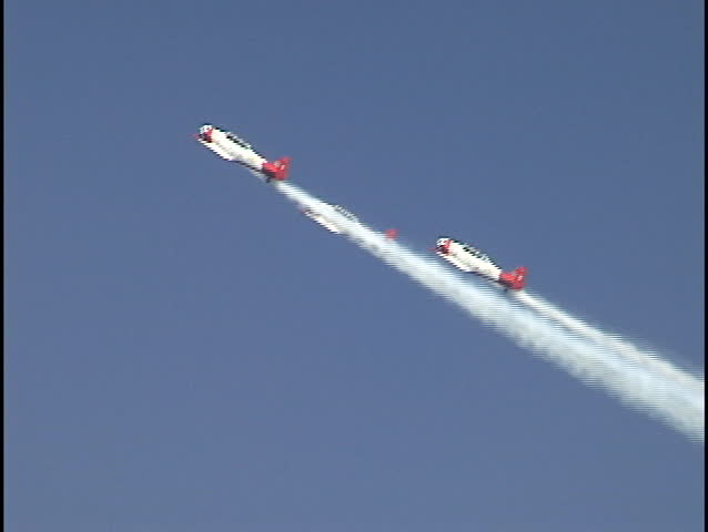 Stunt Planes at Air Show 2