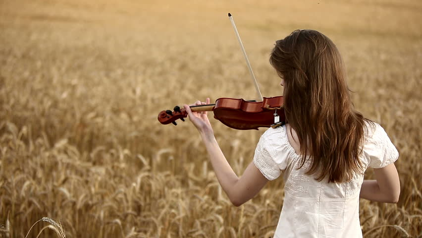 Girl Violinist Playing the Violin Stock Footage Video (100% Royalty-free)  6866092 | Shutterstock