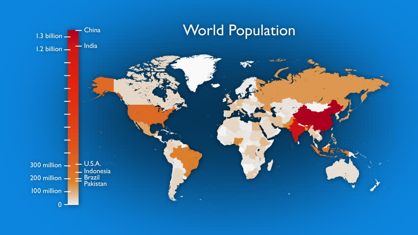 Image result for world population no background