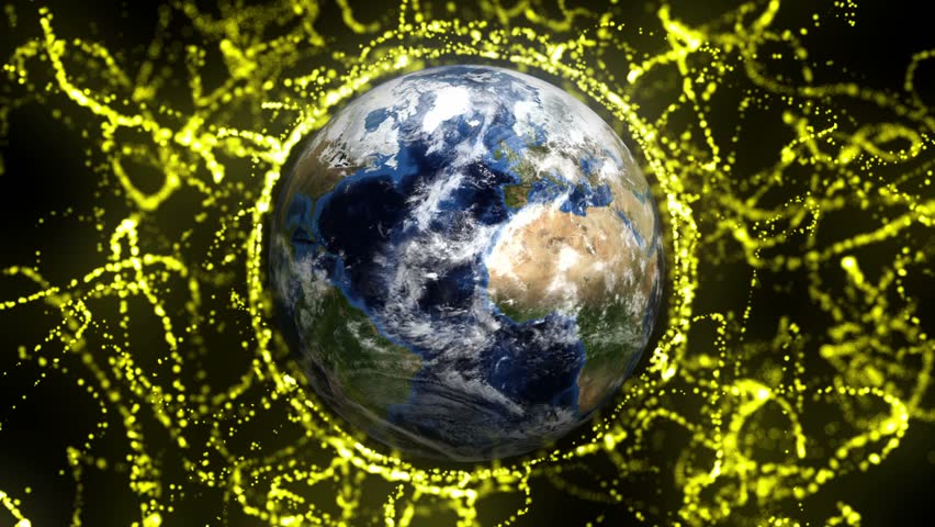 Earth in Particles | Shutterstock HD Video #6972442