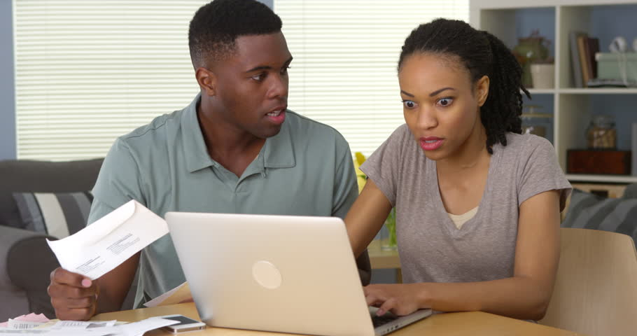 Image result for Black couple arguing