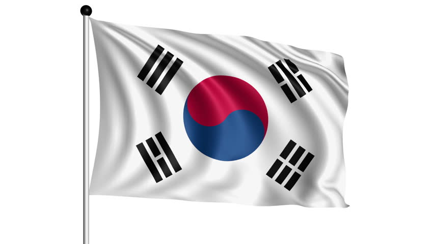 Image result for korean flag