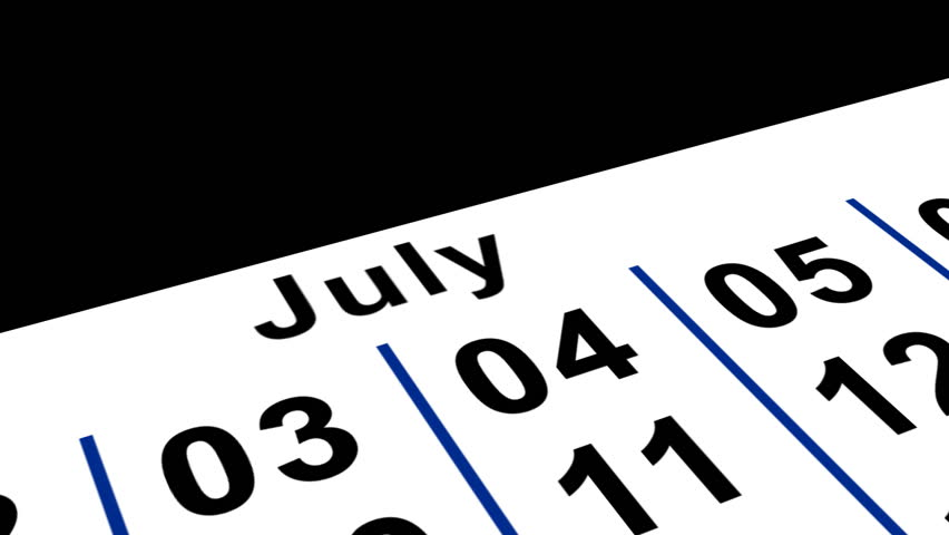 Bastile Day Calender | Shutterstock HD Video #70252